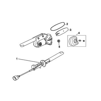RM0612P Branch Wizard 41AZ01PG983 Remington Polesaw parts list