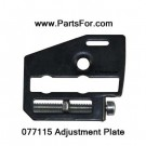 077115 adjustment plate assembly for Remington