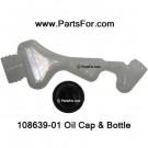 108639-01 Remington oil bottle and cap kit part # 108639-01