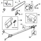 RM0815P / 41AZ12PG983 Remington Polesaw Parts @ PartsFor.com