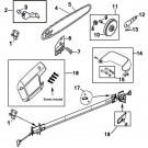 106890-02 Remington Pole saw Parts and Chain Saw Parts @ PartsFor.com