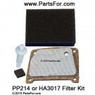 PP214 Filter Kit (HA3017)