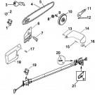 RM1025P / 41AZ32PG983 Remington Polesaw Parts @ PartsFor.com