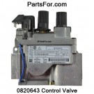 0820643 Natural Gas 820 Nova SIT valve replaces J3832 , 103781-01 and 0.820.643