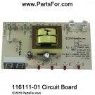 116111-01 LED Ignition Control Circuit Board
