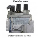 14389 Desa Natural Gas valve SIT Nova 820 @ PartsFor.com